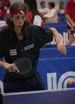 Sportgek Nico in actie